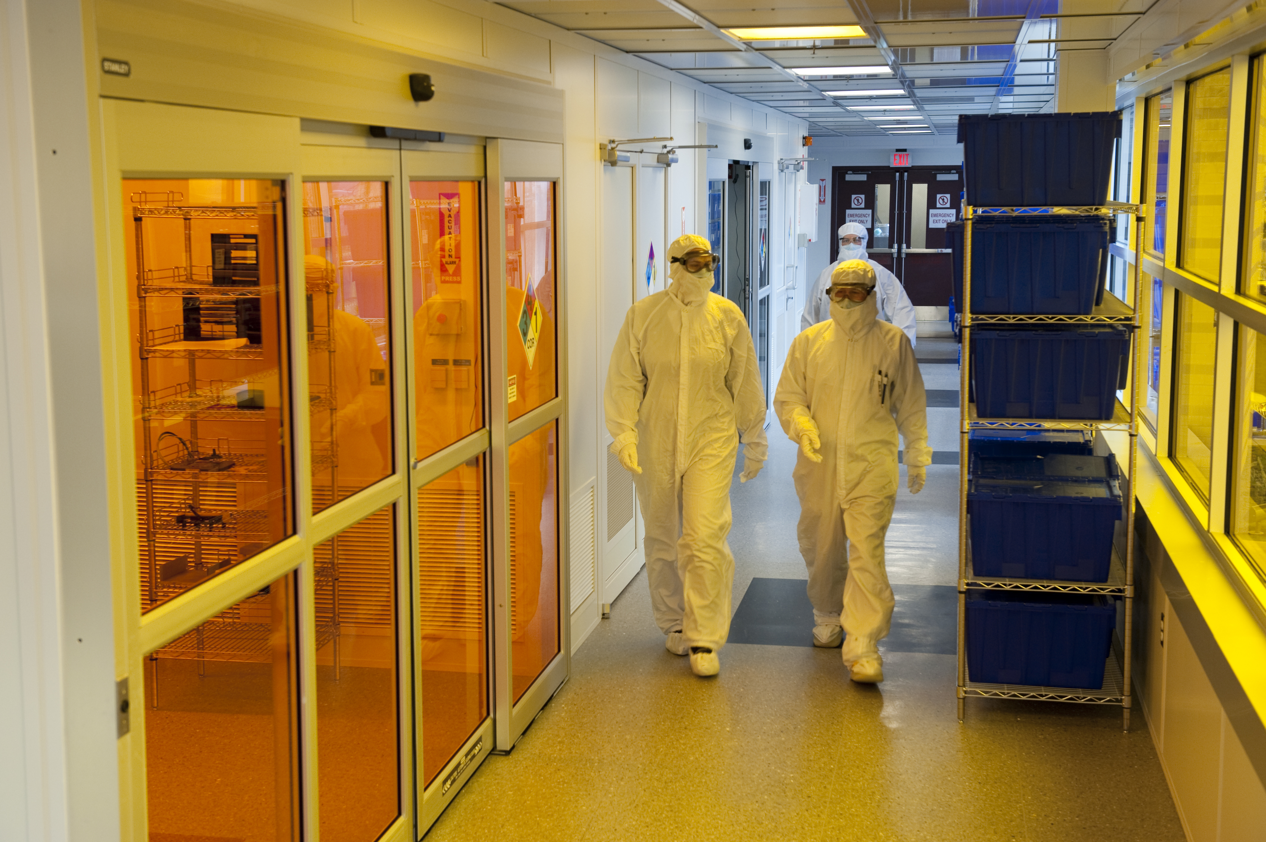 The Cleanroom Hallway